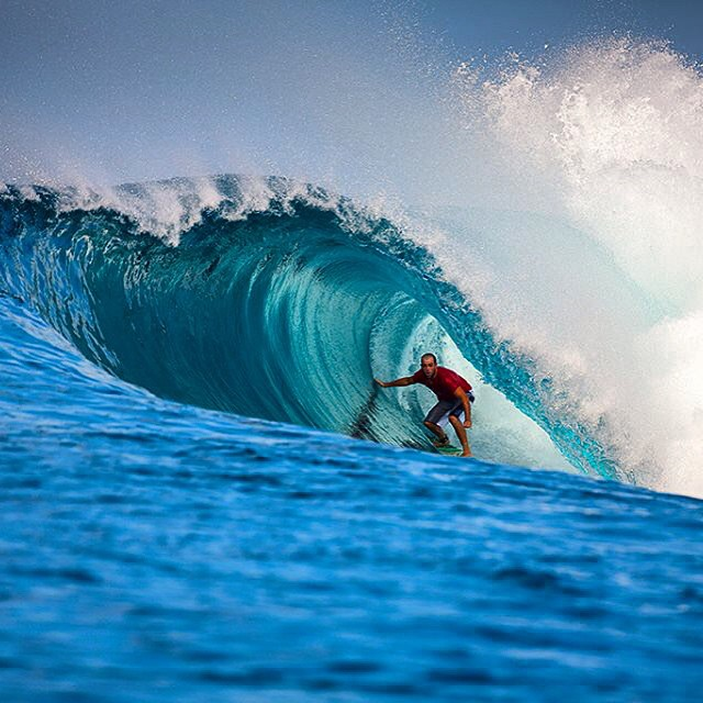 Mr @ianbattrick deep in Indo.