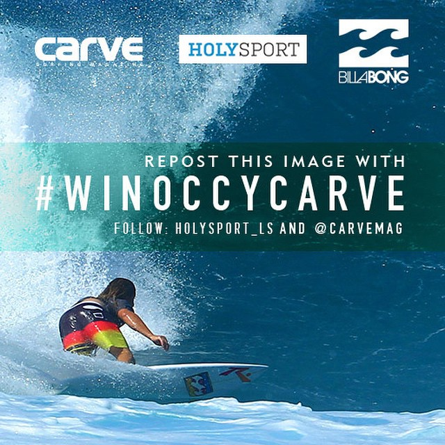 Want to win Occys '84 Rusty board worth £1200? Follow @holysport_LS @carvemag and repost the image with #winoccycarve Full rules on carvemag.com