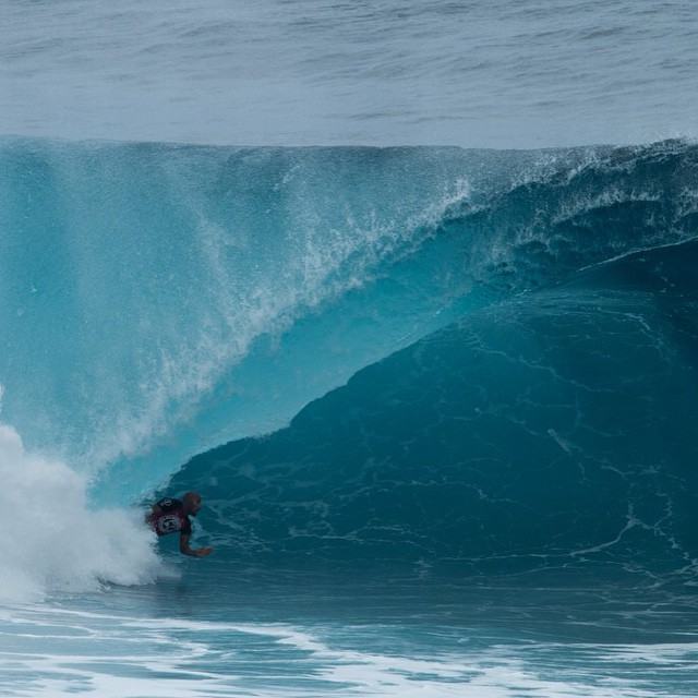 Volcom Pipe Pro went off again on day two. Highlights on carve mag.com . This Fred P getting worked!
