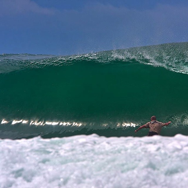 @ianbattrick and a pure glass Indo wall