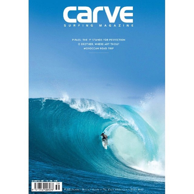 Very pleased to have Mikey Wright on our April cover. His first of many I am sure!