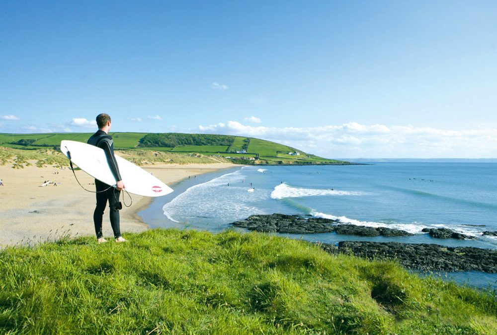Summer is here so head to Surfer's Paradise, Croyde Bay