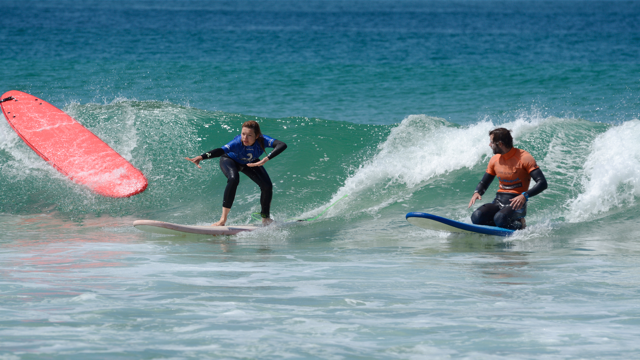 Learn to be a surf instructor in Portugal