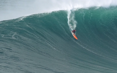Tom Butler's Nazare Warm Up…
