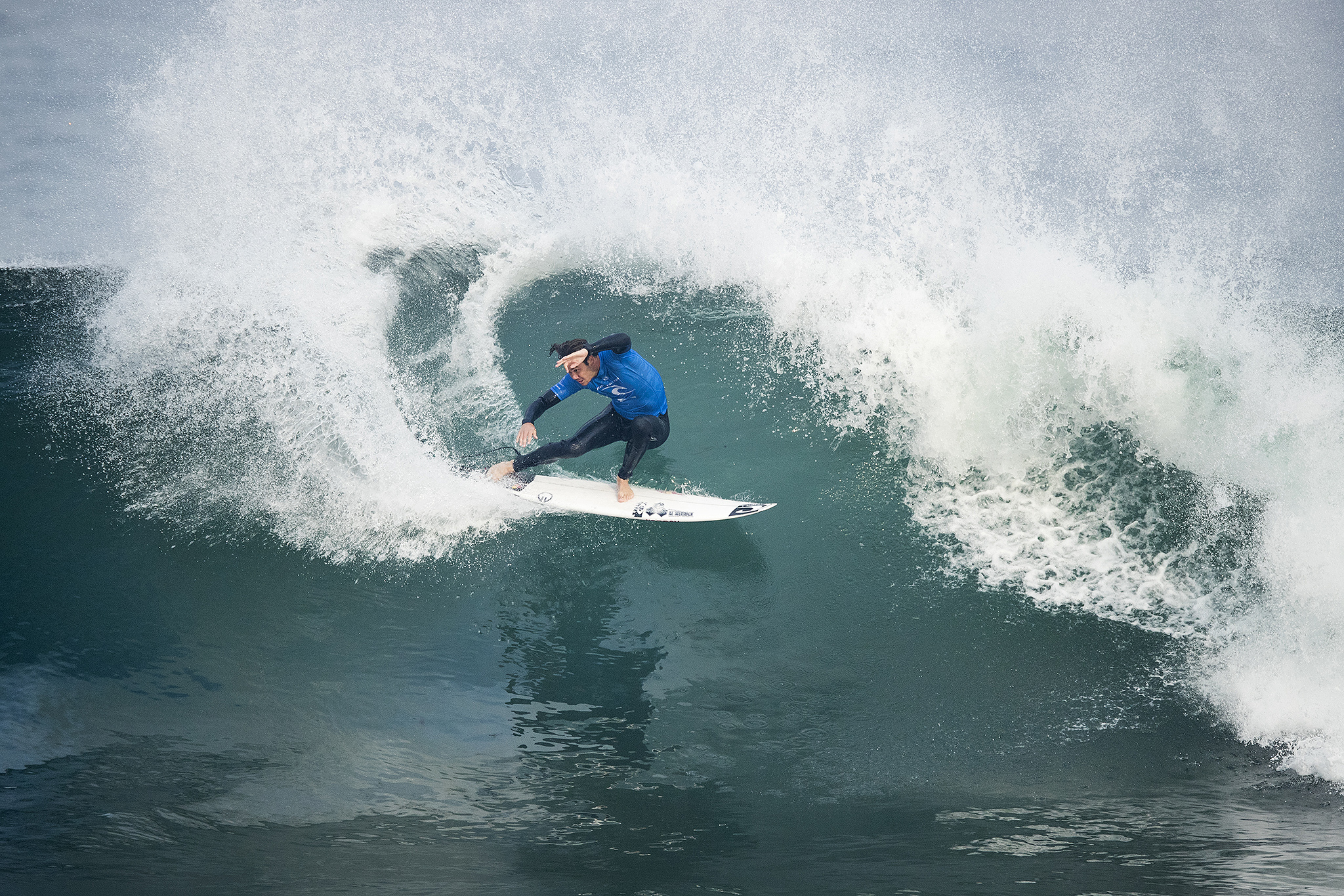 Jordy Smith wins first Bells Beach surfing title