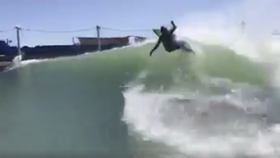WSL Crew Head to Kelly's Wave Pool?