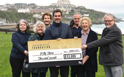Boardmasters Foundation gives £53,0000 to Cornish Charities and projects