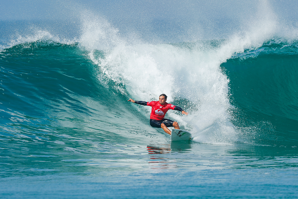 Wildcard Marc Lacomare of France PHOTO: © WSL / Poullenot