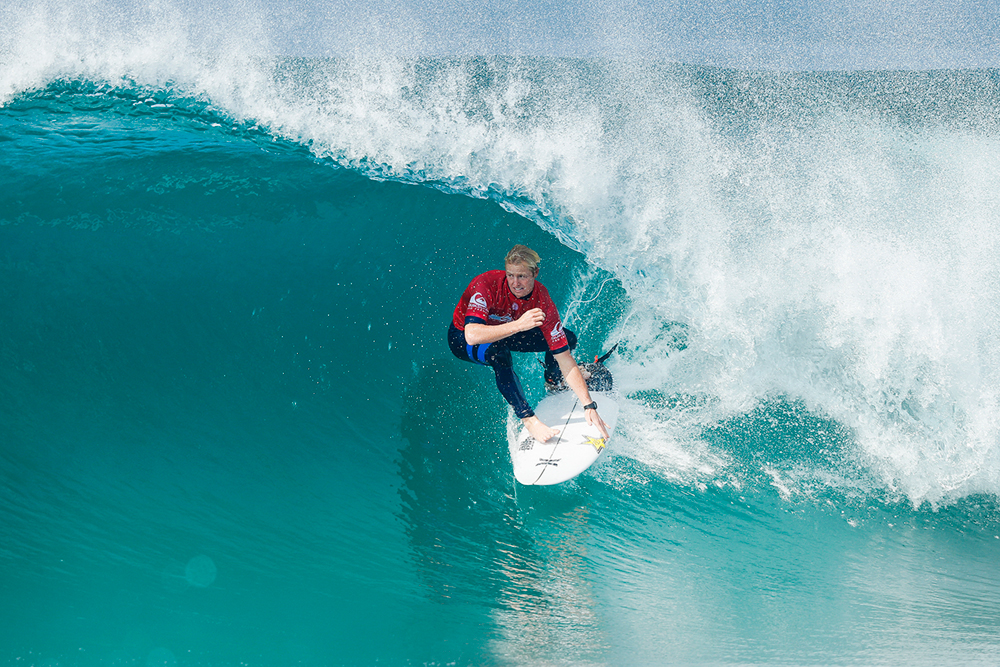 Nat Young of the USA PHOTO: © WSL / Poullenot