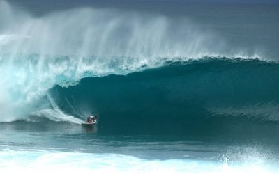 Crazy finals day at the Volcom Pipe Pro