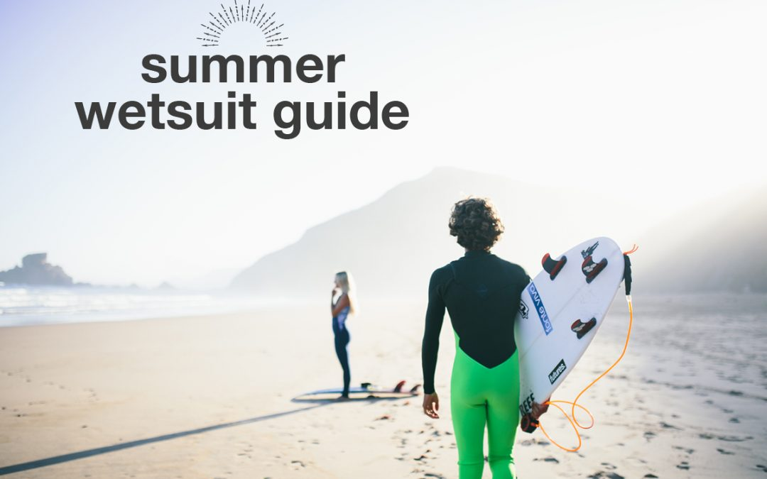 Summer Wetsuit Guide 2018