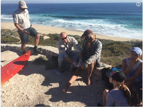 Twin Great Whites incidents in Margaret River area.