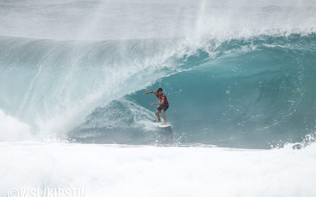 17-Year Old Jack Robinson Takes Pipe Trials…