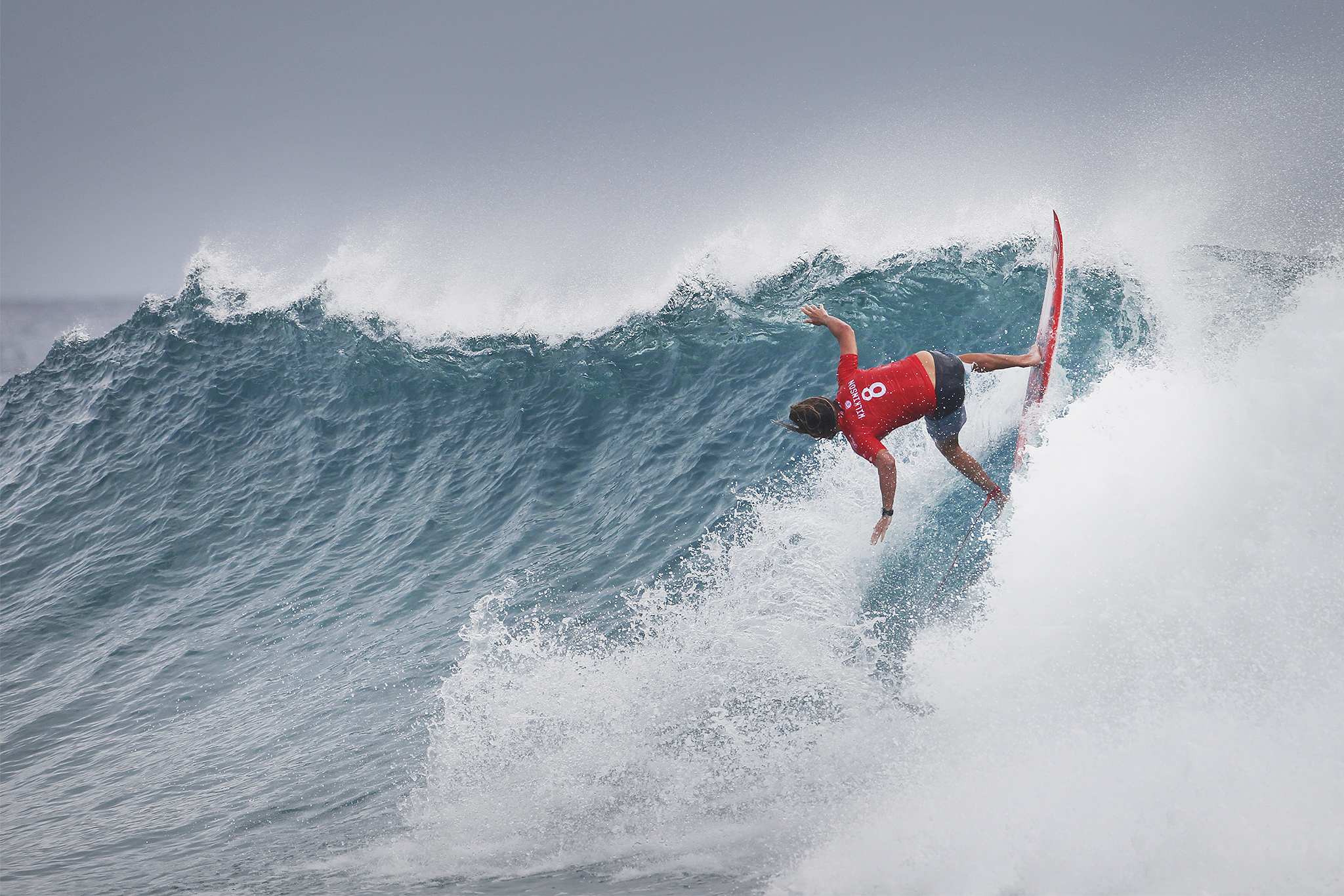 Matt Wilkinson of Australia (pictured) winning the Quiksilver Pro Gold Coast on Wednesday March 16, 2016. PHOTO CREDIT: © WSL / Kirstin This is a hand-out image from the World Surf League and is royalty free for editorial use only, no commercial rights granted. The copyright is owned by World Surf League. Sale or license of the images is prohibited. ALL RIGHTS RESERVED.