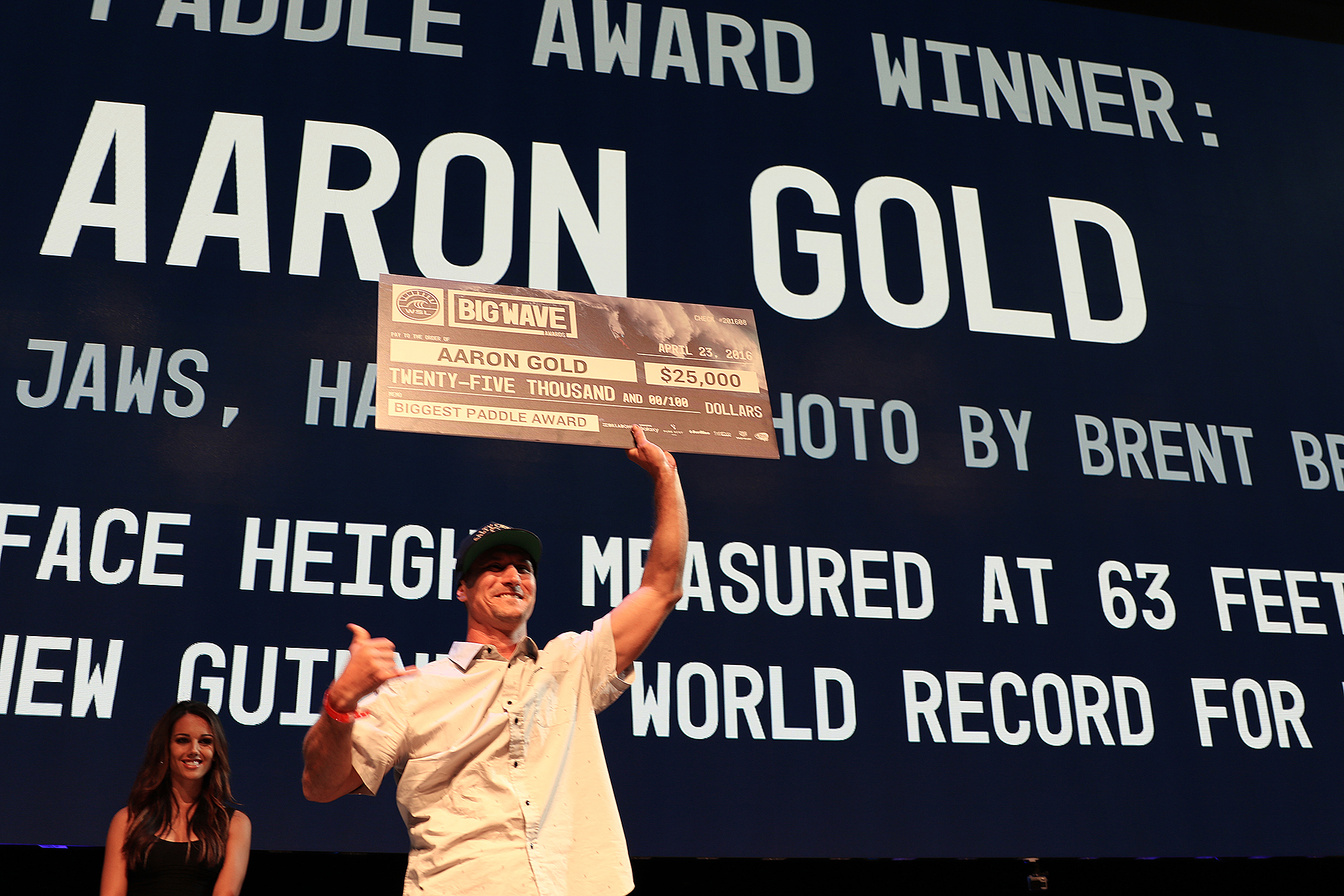 Aaron Gold of Hawaii