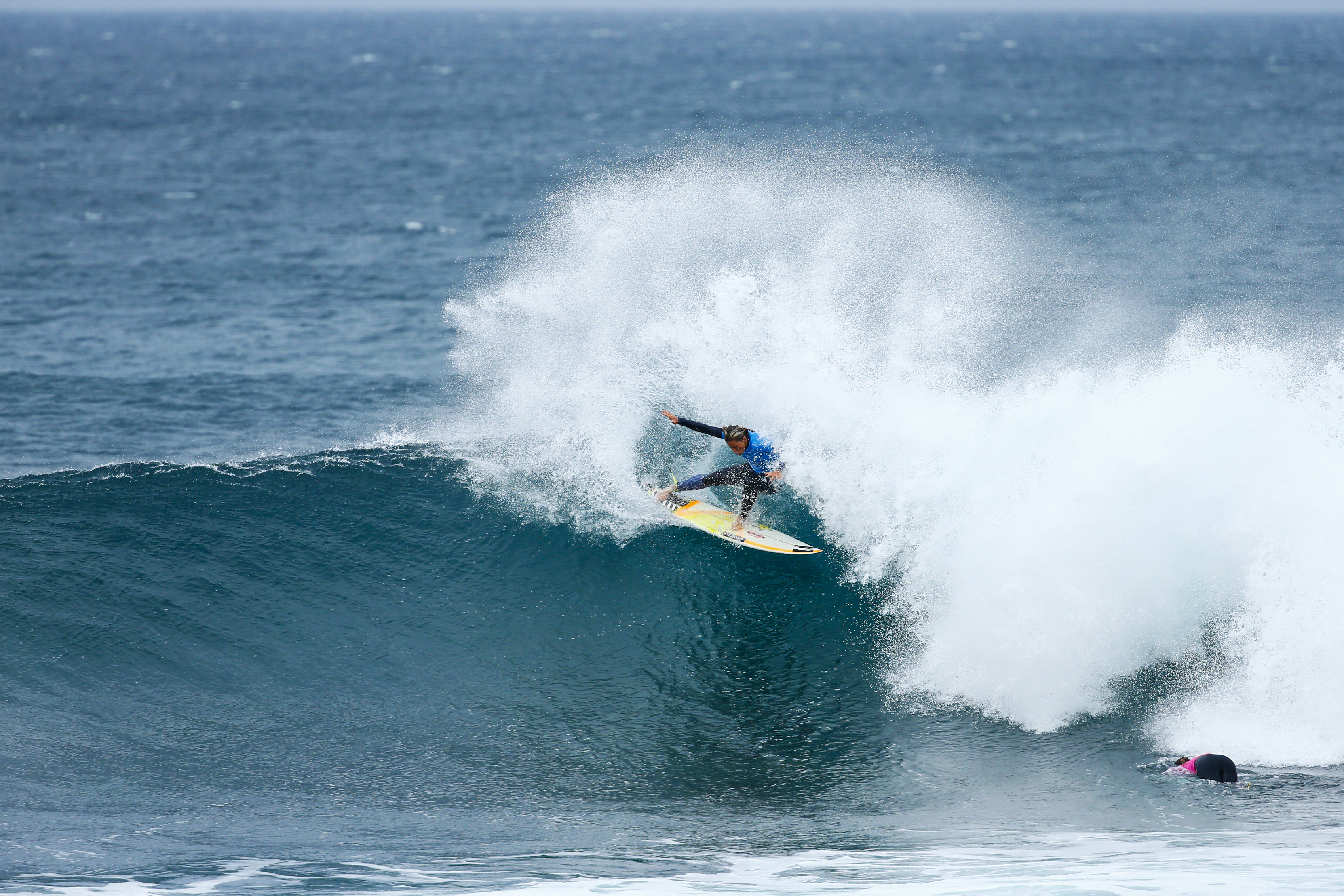 75c27be8b09a4d Courtney Conlogue of the USA (pictured) winning the Rip Curl Pro Bells  Beach in