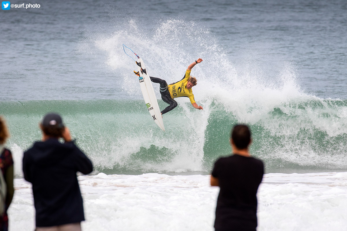 23735ea403 John John Florence maintains the Jeep Leaderboard yellow jersey