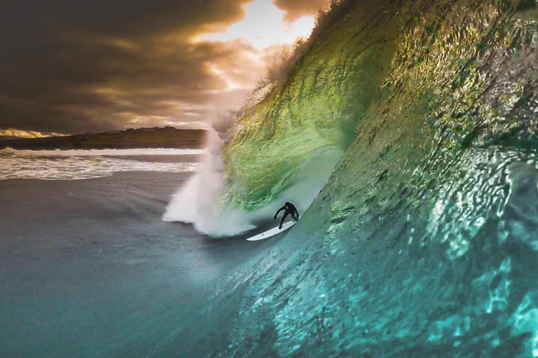 Conor Maguire at Mullaghmore by Flanagan