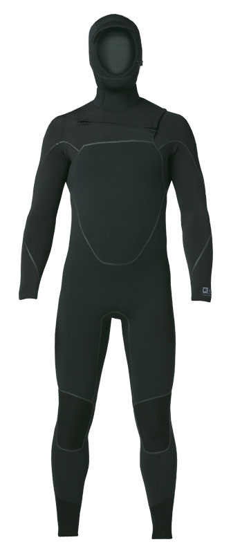 R5 YULEX FRONT ZIP HOODED FULL SUIT