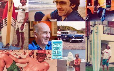 Wessex surf club legend Brian`Butch` Bowry passes
