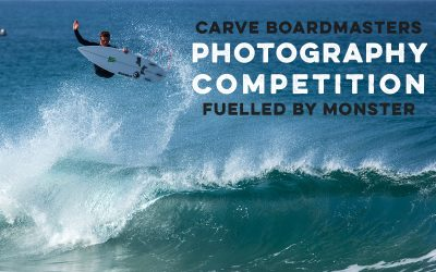 Carve Boardmasters Photography Competition fuelled by Monster