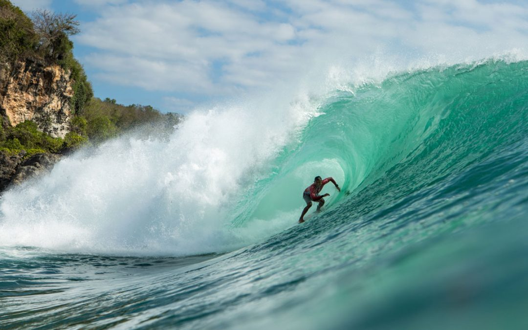 RIP CURL CUP ON HIGH ALERT TO FINISH THURSDAY