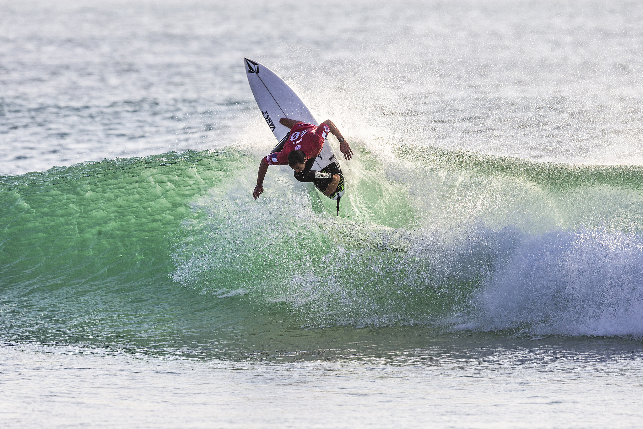 4b91bea61f1f47 Joan Duru (FRA) advances to the final of the 2018 MEO Rip Curl Pro after  winning Semifinal Heat 2 in Peniche