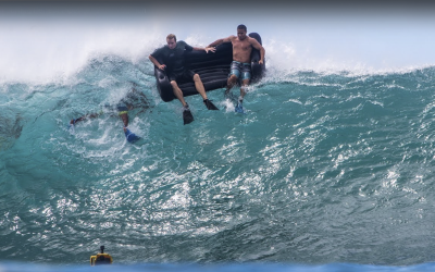 Can you surf a couch at Pipeline?