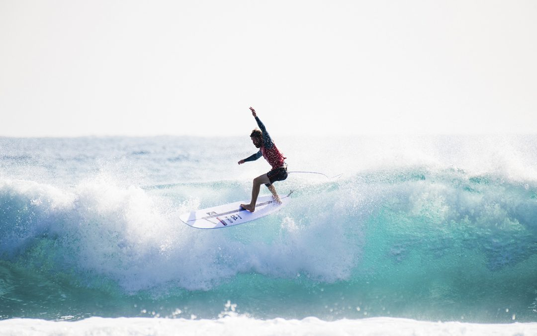 Ben Skinner powers to the sharp end of the Taiwan Open World Longboard Championships…