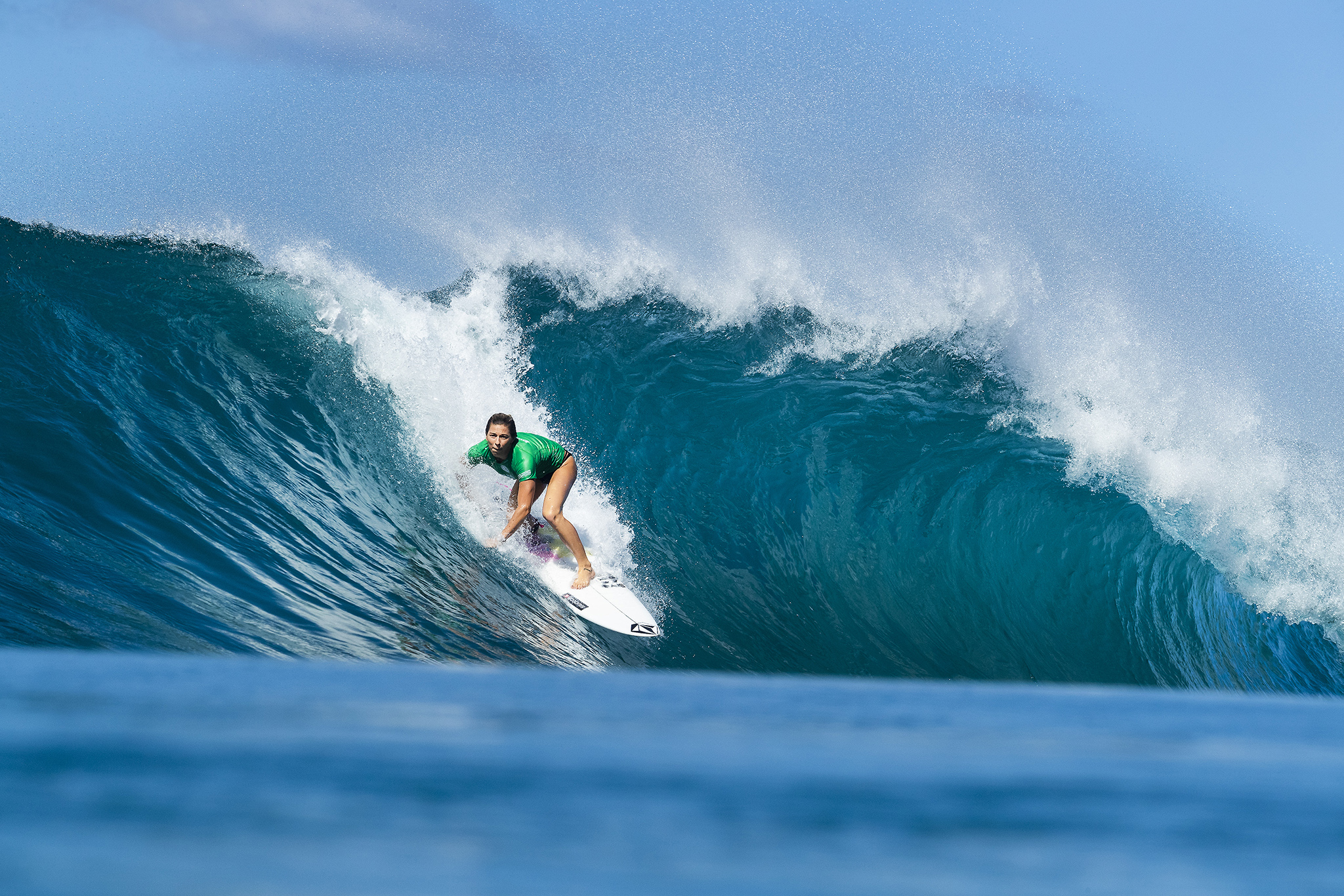 736e62bb48 Coco Ho (HAW) won the Women s Pipe Invitational during the 2018 Billabong  Pipe Masters at Pipeline