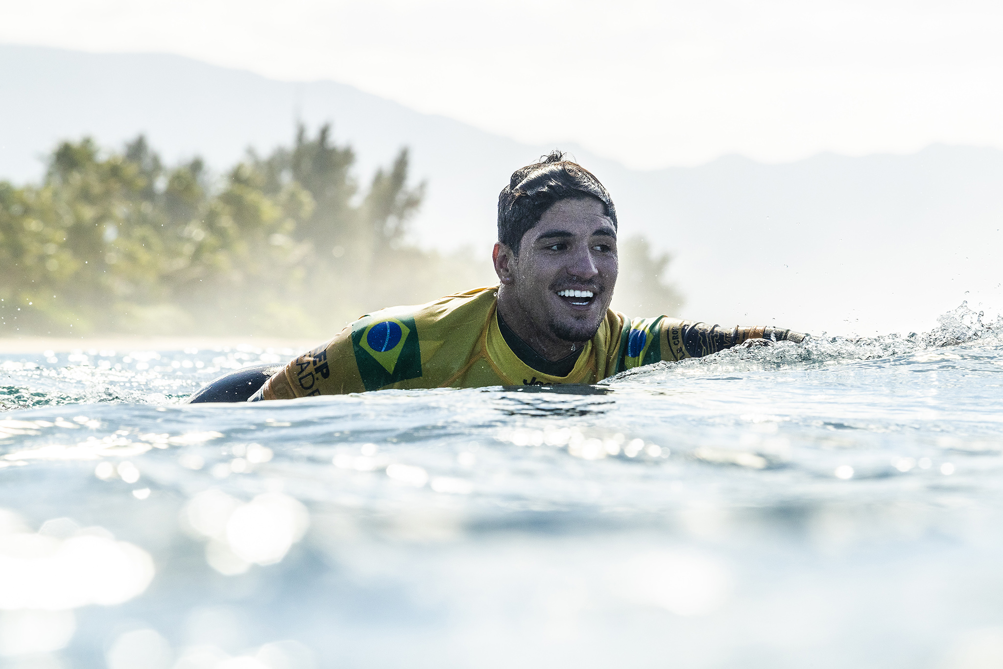 6275fcccf6 2014 World Champion Gabriel Medina (BRA) is now a 2X World Champion and his  first Pipe Masters title after winning the final of the 2018 Billabong Pipe  ...