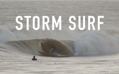 Sandspit … Storm Surf