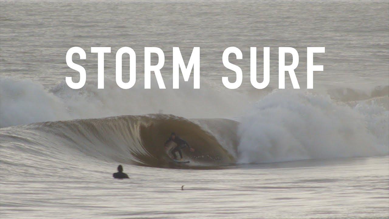 Sandspit ... Storm Surf