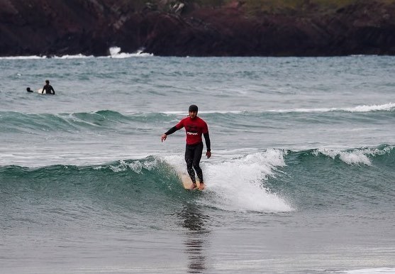 Elliot Dudley, Ben Howey, Emily Currie and Beth Leighfield – Going for Gold at the World Longboard Champs