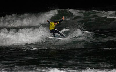 Night Surf 2019 Presented by Fistral Beach Surf School and Hire