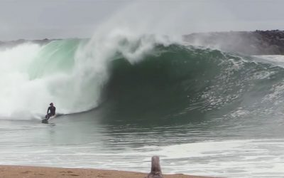 First PUMPING swell at the Wedge 2019