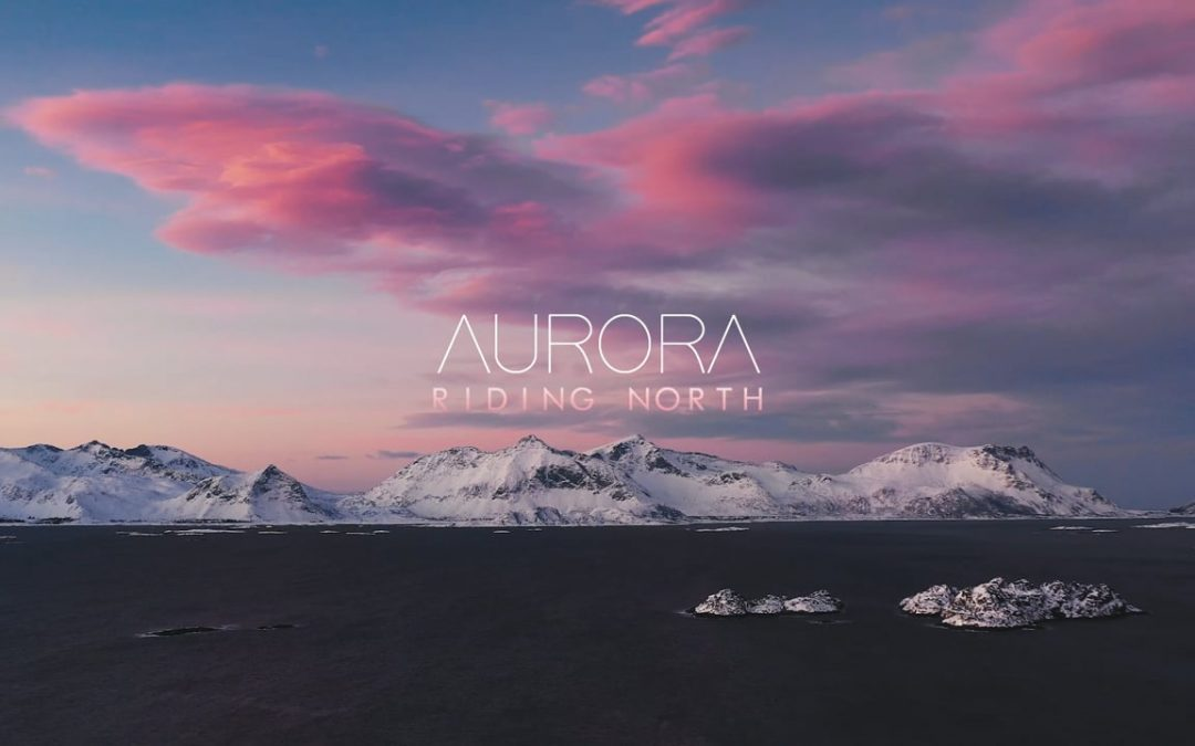 Aurora Riding North… Damien Castera and Mathieu Crépel's epic trip to the Arctic fringe.