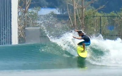 Wave Pool China First Test Surf