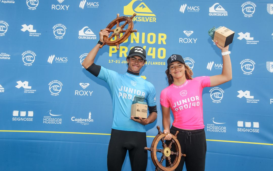 Quik & Roxy Junior Champs Pro 40 Crowned