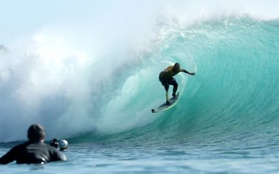 Fabrizio Passetti, Italian adaptive surfer.
