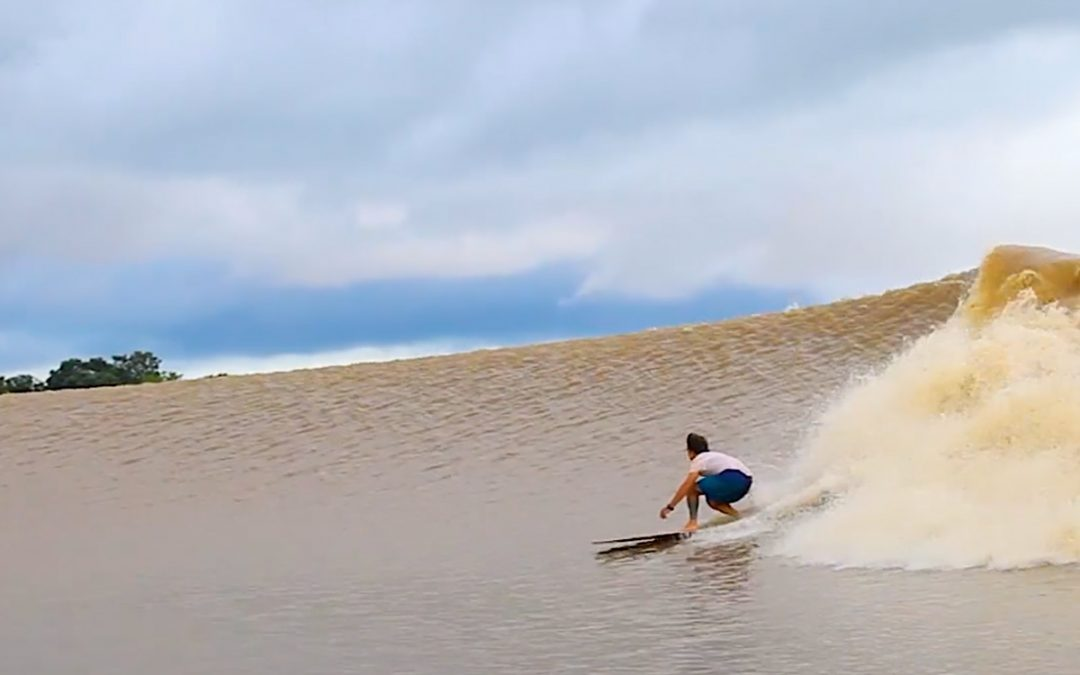 Surfing the Amazon River's Endless Wave