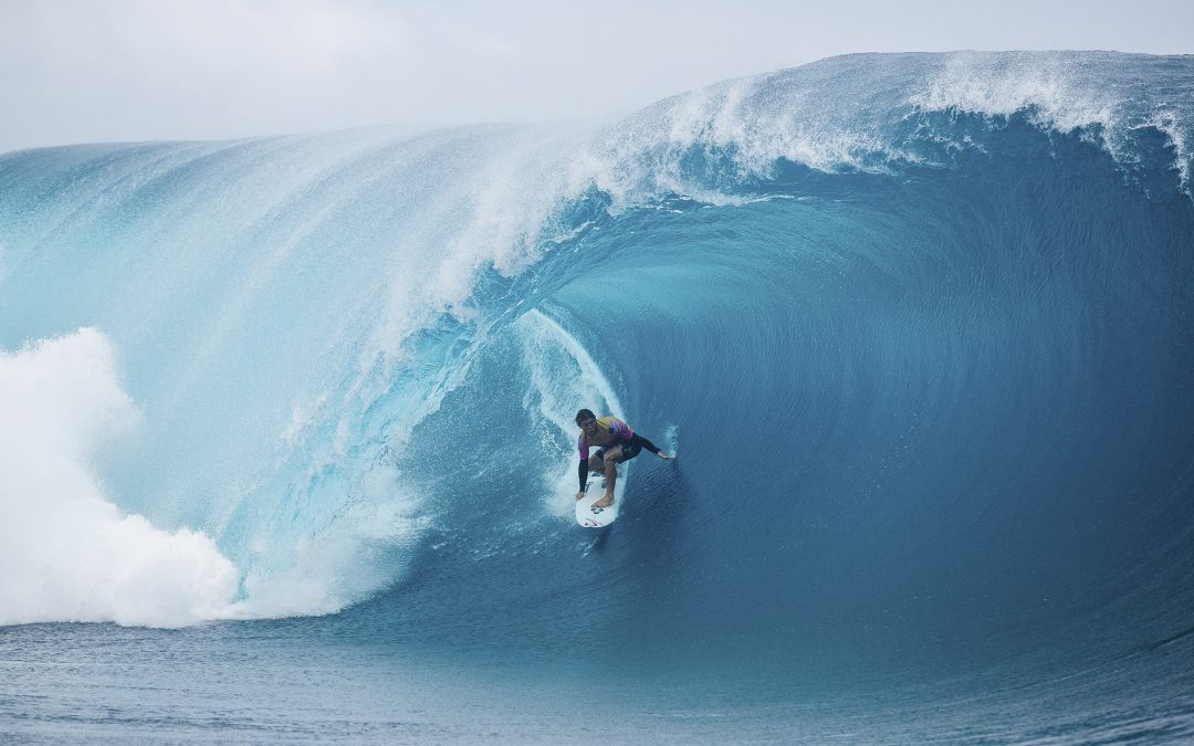 Tahiti pumps for the World Surf League crew.