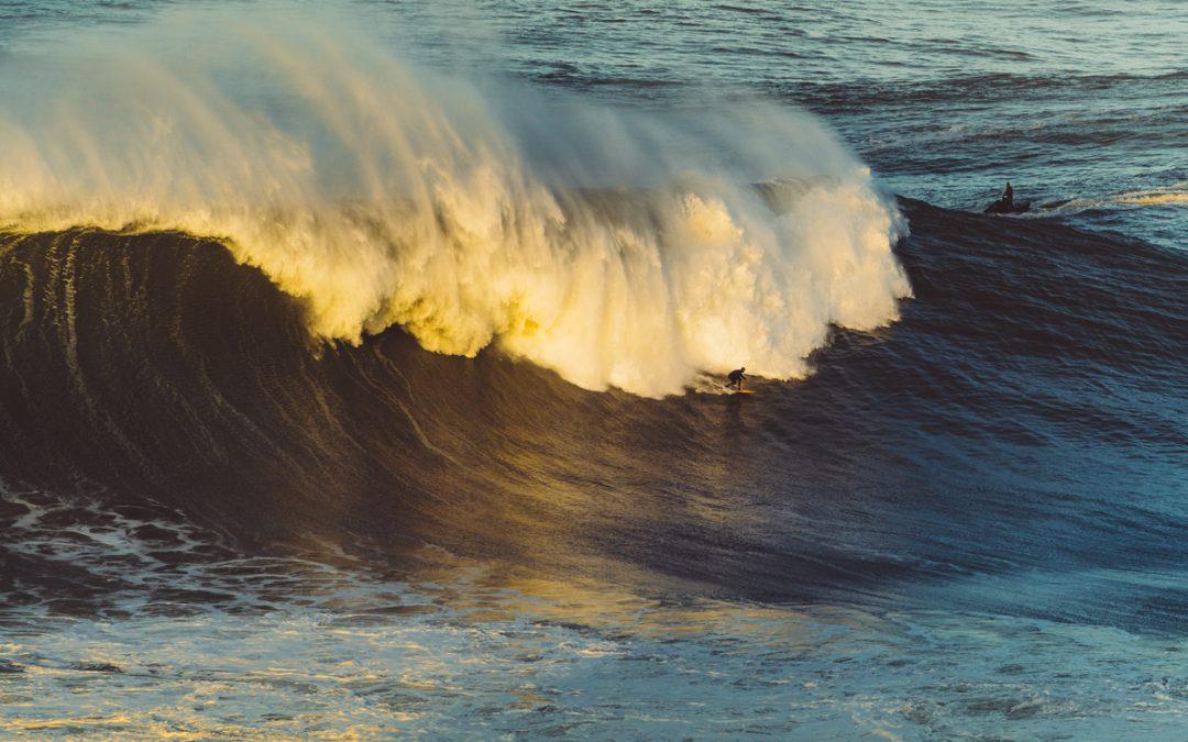 Molecule X Nazaré: When electronic music meets big wave surfing