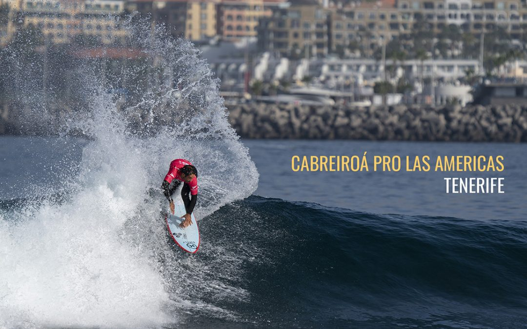 French crew dominate at the Cabreiroá Pro Las Americas, Tenerife.