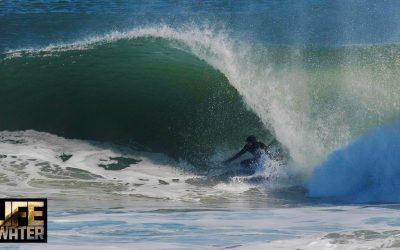 Brett Barley scoring the east coast of the US