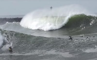 Pumping Swell Hits The Wedge