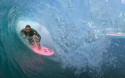 FINLESS SURFING AT PIPELINE WITH JORDY SMITH!