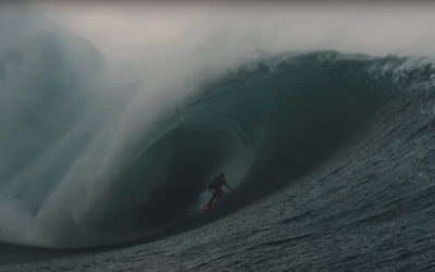 SURFING IRELANDS COLD GIANT WAVE