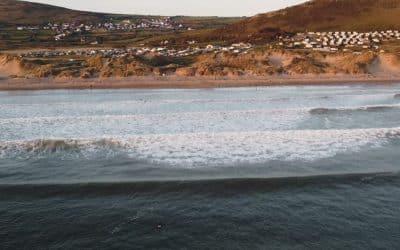 Surfing Llangennith