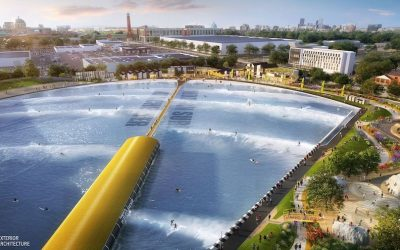 Plans for £60 Million Manchester Surfing Complex Submitted to Trafford Council
